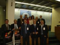 Representantes del COSAVE en el plenario de la III CMF - Roma, 2008.
