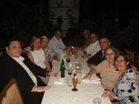 Cena de despedida del COSAVE de Chile