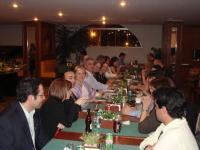 Cena ofrecida por el DSV, colegas del XIII GAH CMF y del DSV