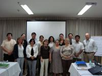 Grupo del XIII GAH CMF (Agosto, 2009) en Brasilia
